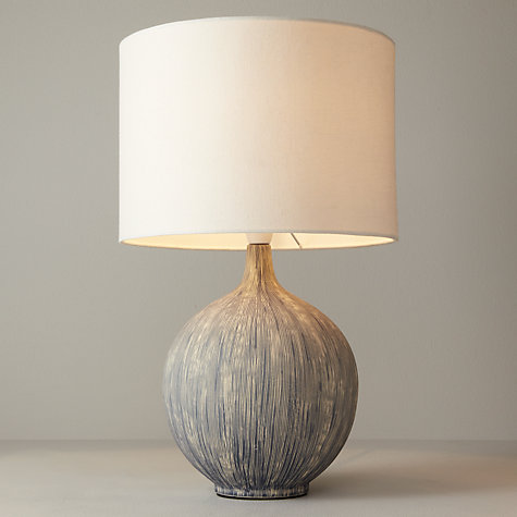 Buy John Lewis Ebony Table Lamp