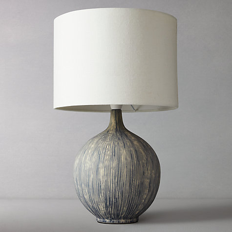 Buy John Lewis Ebony Slate Table Lamp Online at johnlewis.com