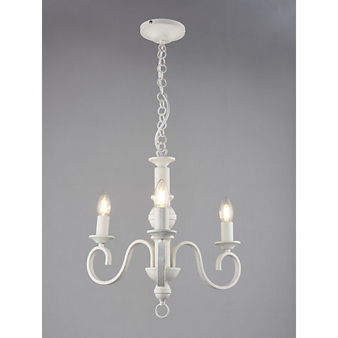 Buy John Lewis Carlita Multi-arm Ceiling Light, 3 Arm, White Online at johnlewis.com