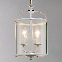 Buy John Lewis Walker Painted Ceiling Pendant, Grey Online at johnlewis.com
