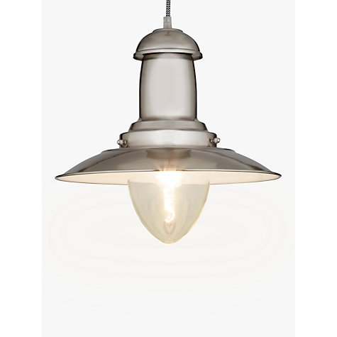 Buy John Lewis Barrington Ceiling Pendant, Steel Online at johnlewis.com