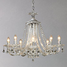 Buy John Lewis Ophelia Crystal Chandelier, 8 Light Online at johnlewis.com