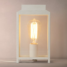 Buy John Lewis Sheringham Box Table Light Online at johnlewis.com