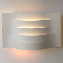 Buy John Lewis Miles Slatted Wash Wall Light Online at johnlewis.com
