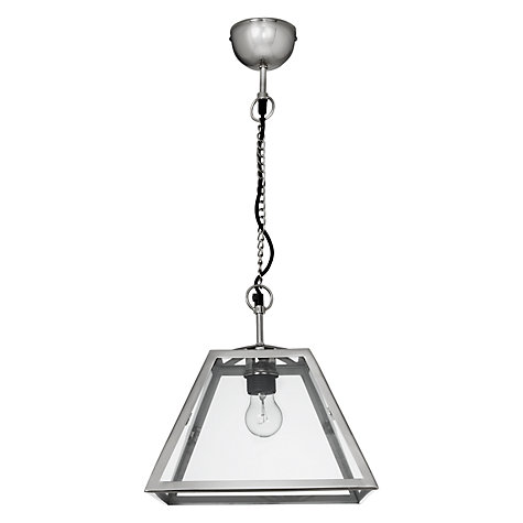 Buy John Lewis Croft Collection Whitstable Box Light Ceiling Pendant Online at johnlewis.com