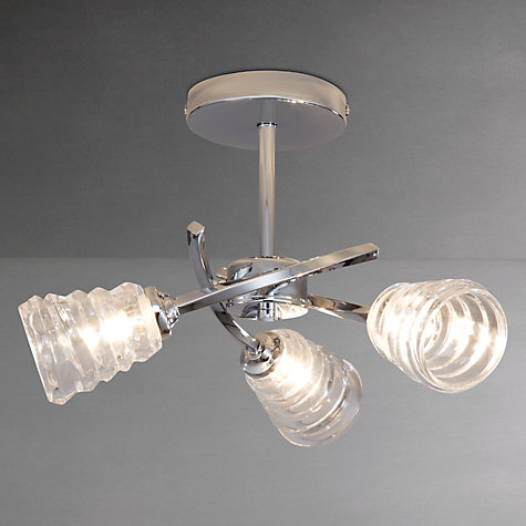 Buy John Lewis Julian Wavy Ceiling Light, 3 Arm Online at johnlewis.com