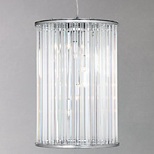 Buy John Lewis Chiara Crystal Rods Ceiling Pendant, 6 Light Online at johnlewis.com