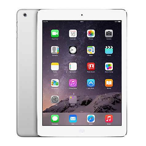 "Buy Apple iPad Air, Apple A7, iOS, 9.7"", Wi-Fi, 16GB Online at johnlewis.com"