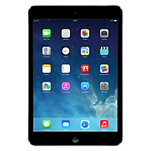 "Buy Apple iPad mini with Retina display, Apple A7, iOS 7, 7.9"", Wi-Fi, 128GB, Space Grey Online at johnlewis.com"