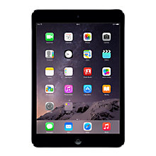 "Buy Apple iPad mini with Retina display, Apple A7, iOS 7, 7.9"", Wi-Fi, 32GB, Space Grey Online at johnlewis.com"