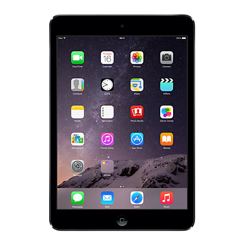 "Buy Apple iPad mini 2, Apple A7, iOS, 7.9"", Wi-Fi, 32GB Online at johnlewis.com"