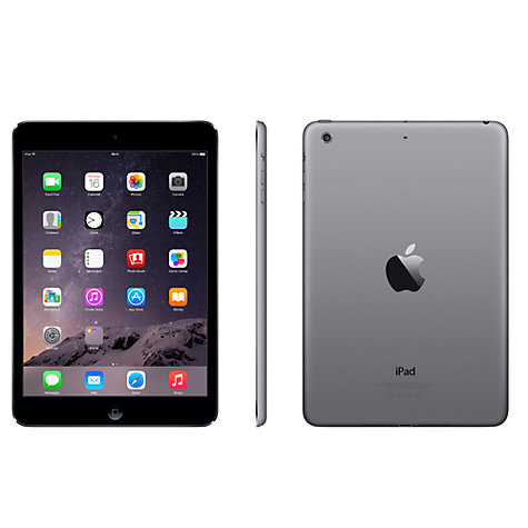 "Buy Apple iPad mini 2, Apple A7, iOS, 7.9"", Wi-Fi, 16GB Online at johnlewis.com"