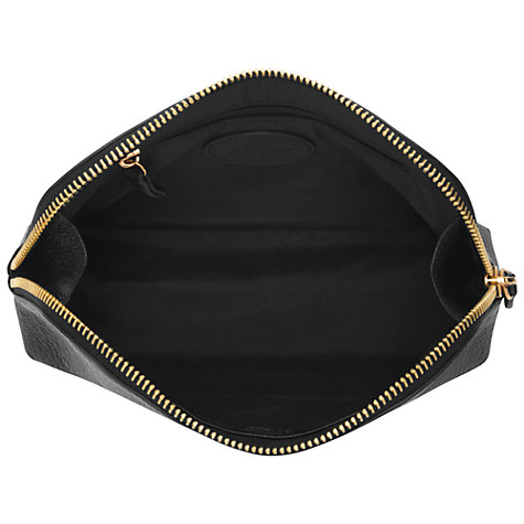 Buy Mulberry Make Up Case, Black Glossy Goat Online at johnlewis.com