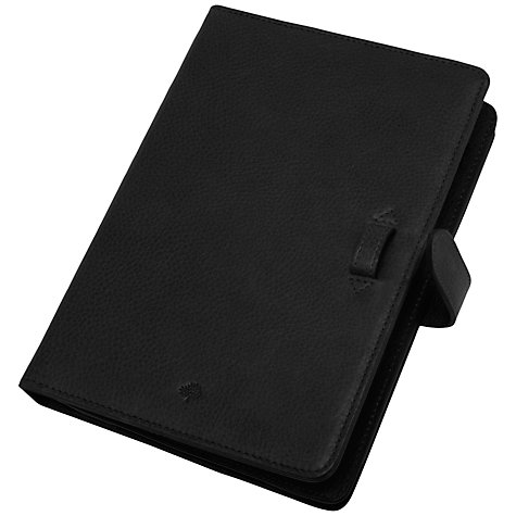 Buy Mulberry iPad Mini Case, Black Online at johnlewis.com