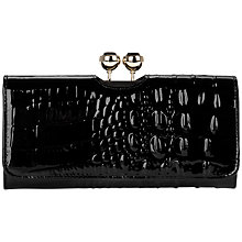Buy Ted Baker Benita Crocodile Print Matinee Purse Online at johnlewis.com
