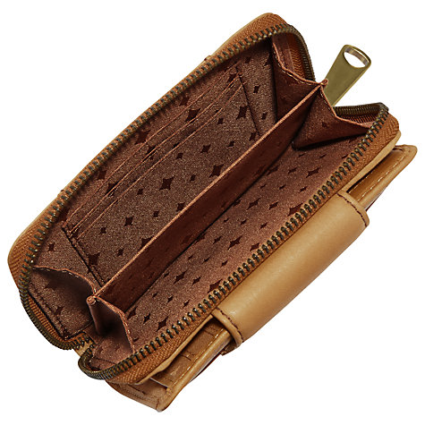 Buy Fossil Explorer Multifunction Purse, Camel Online at johnlewis.com