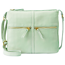 Buy Fossil Erin Zip Cross Body Bag Online at johnlewis.com