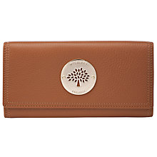 Buy Mulberry Daria Leather Continental Wallet Online at johnlewis.com