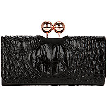 Buy Ted Baker Elmira Crocodile Print Matinee Purse Online at johnlewis.com