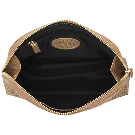 Buy Mulberry Make Up Case, Metallic Mushroom Goat Online at johnlewis.com