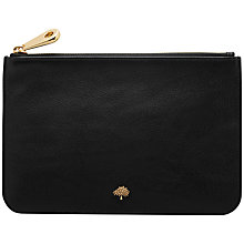 Buy Mulberry Tree Leather Pouch Purse Online at johnlewis.com