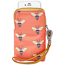 Buy Fossil Keyper Leather Carry All Purse, Pink Bees Online at johnlewis.com
