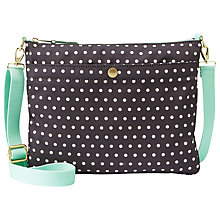 Buy Fossil Key-Per Top Zip Across Body Handbag Online at johnlewis.com