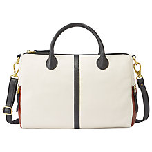 Buy Fossil Erin Leather Satchel Bag Online at johnlewis.com