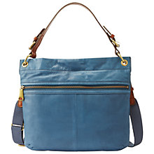 Buy Fossil Explorer Leather Hobo Handbag Online at johnlewis.com