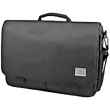 "Buy Victorinox Consultant 14"" Laptop Messenger Bag, Black Online at johnlewis.com"