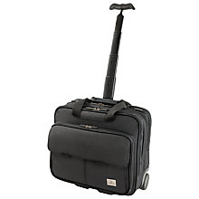 Buy Victorinox Strategist Laptop Wheeled Case, Black Online at johnlewis.com