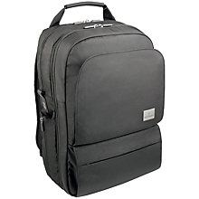 "Buy Victorinox Associate 17"" Laptop Backpack, Black Online at johnlewis.com"