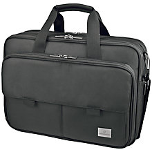 "Buy Victorinox Executive 15"" Laptop Work Bag, Black Online at johnlewis.com"