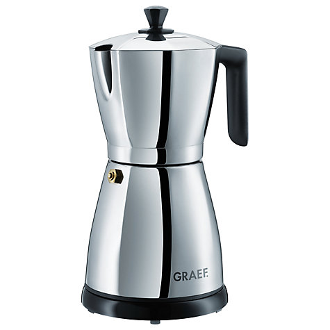 Buy Graef EM85 Electric Espresso Maker, Stainless Steel Online at johnlewis.com