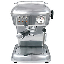 Buy Ascaso Dream Versatile Plus Coffee Machine, Silver Online at johnlewis.com
