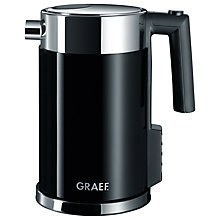 Buy Graef Perfect Temperature Kettle and 4-Slice Long Slot Toaster, Black Online at johnlewis.com
