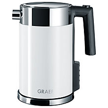 Buy Graef Perfect Temperature Kettle and 4-Slice Long Slot Toaster, White Online at johnlewis.com
