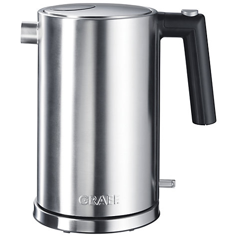 Buy Graef WK80 Kettle, Brushed Stainless Steel Online at johnlewis.com