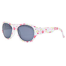 Buy John Lewis Girl Floral Sunglasses, White/Multi Online at johnlewis.com