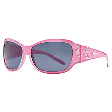 Buy John Lewis Girl Pink Diamante Sunglasses, Pink Online at johnlewis.com