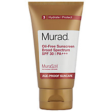 Buy Murad Oil-Free Sunscreen Broad Spectrum SPF 30  PA+++, 50ml Online at johnlewis.com