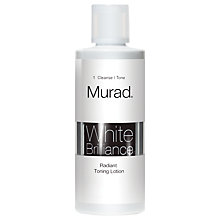 Buy Murad Radiant Toning Lotion, 100ml Online at johnlewis.com