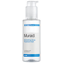 Buy Murad Exfoliating Blemish Treatment Gel, 100ml Online at johnlewis.com