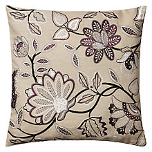 Buy John Lewis Gina Cushion, Purple Online at johnlewis.com