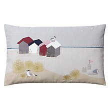 Buy John Lewis Beach Scene Cushion Online at johnlewis.com