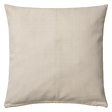 Buy John Lewis Sala Cushion, Putty Online at johnlewis.com