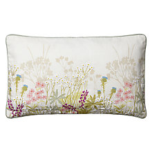 Buy John Lewis Meadow Cushion, Pink / Multi Online at johnlewis.com