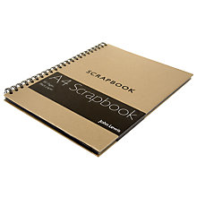 Buy John Lewis A4 Scrapbook, Natural Online at johnlewis.com