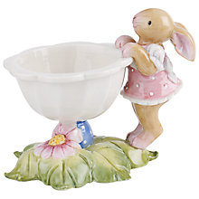 Buy Villeroy and Boch Girl Bunny Egg Cup, Multi Online at johnlewis.com
