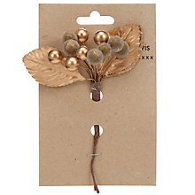 Buy John Lewis Berry Christmas Decoration Online at johnlewis.com